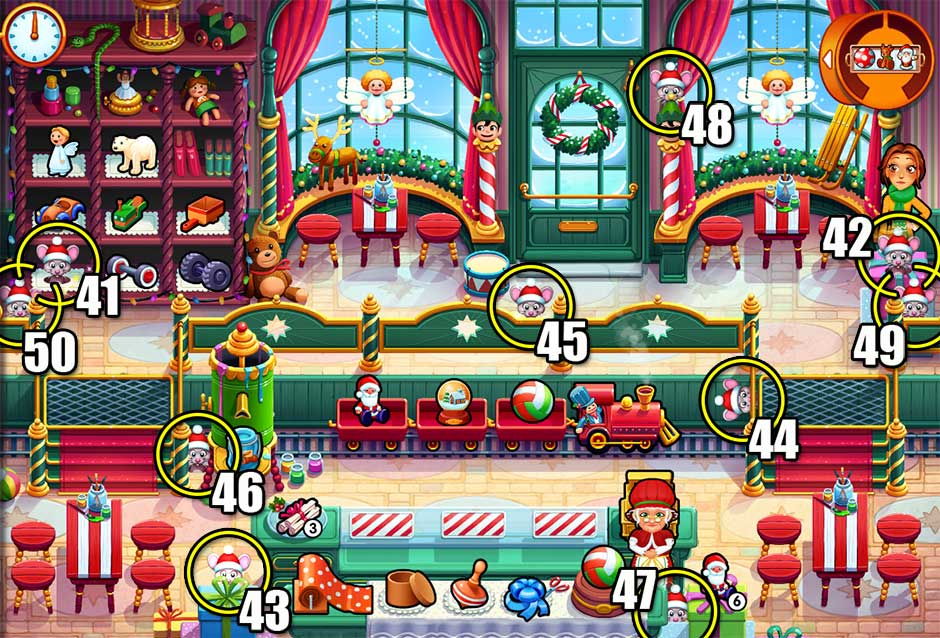 Delicious - Emily's Christmas Carol - Chapter 5 Mice Locations
