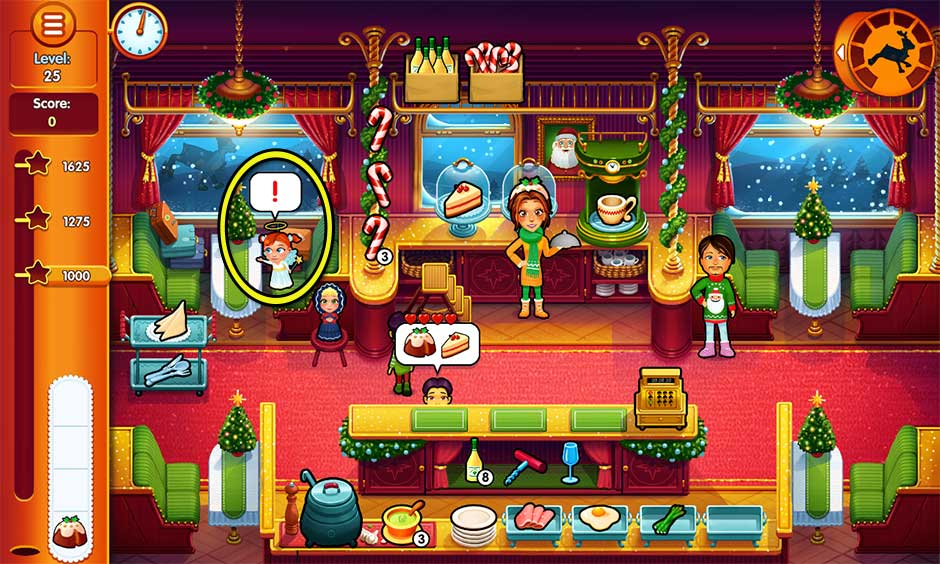 Delicious - Emily's Christmas Carol - Level 25