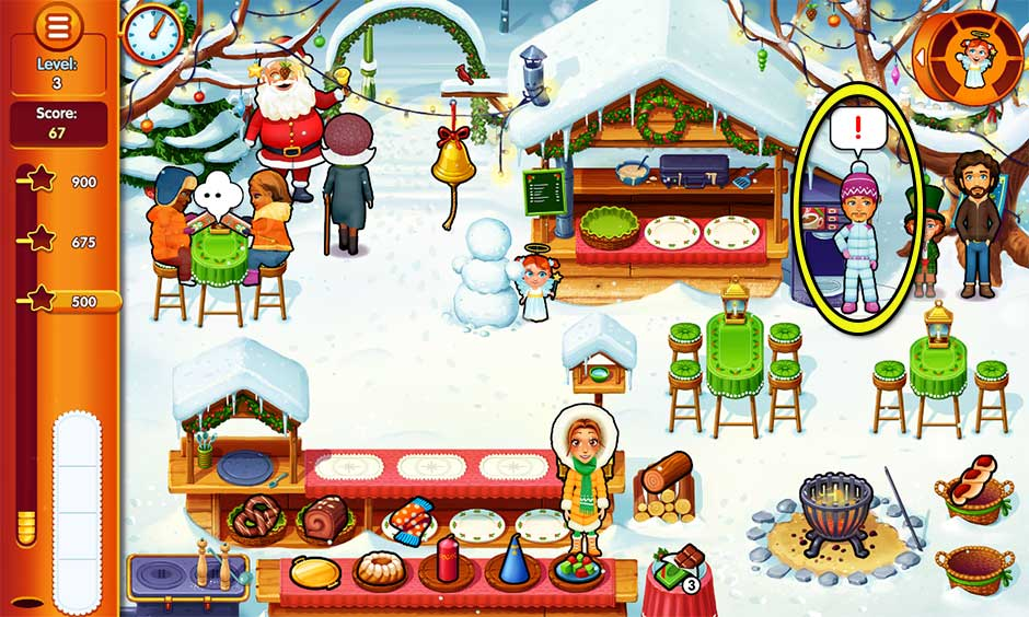 Delicious - Emily's Christmas Carol - Level 3