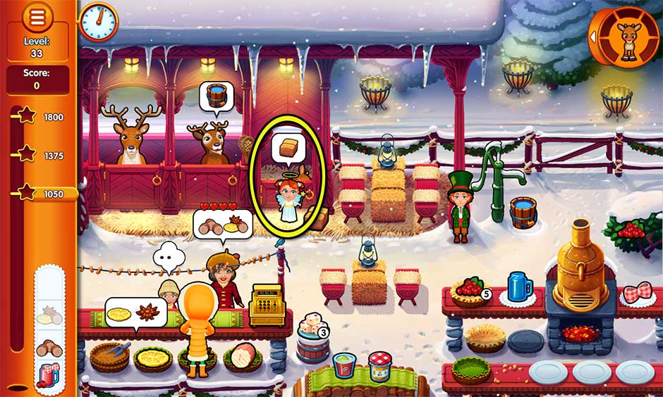 Delicious - Emily's Christmas Carol - Level 33