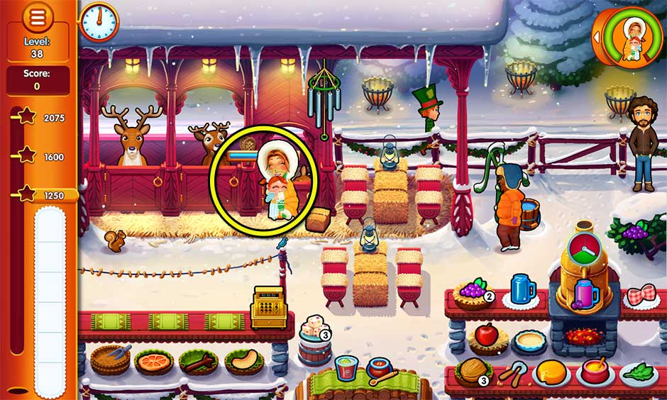 Delicious - Emily's Christmas Carol - Level 38