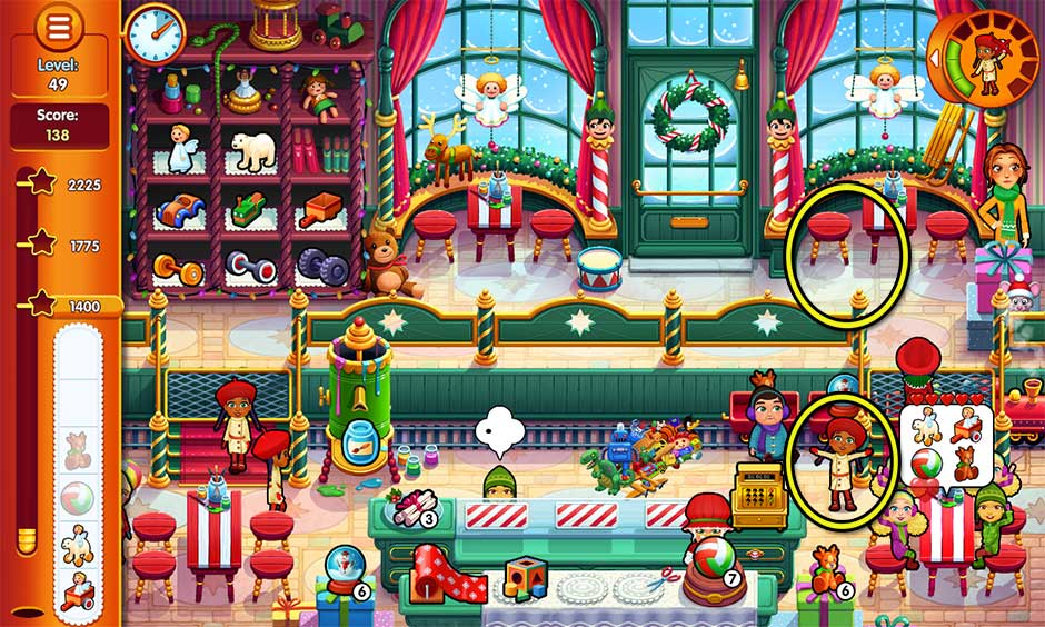 Delicious - Emily's Christmas Carol - Level 49