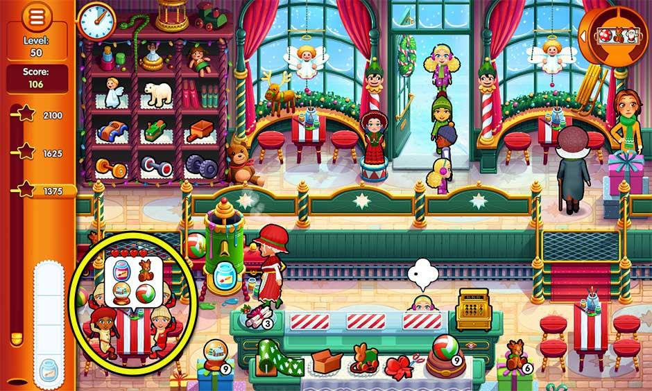 Delicious - Emily's Christmas Carol - Level 50
