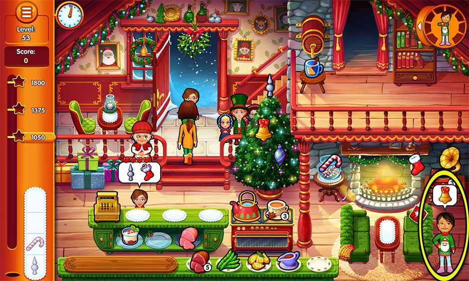 Delicious - Emily's Christmas Carol - Level 53