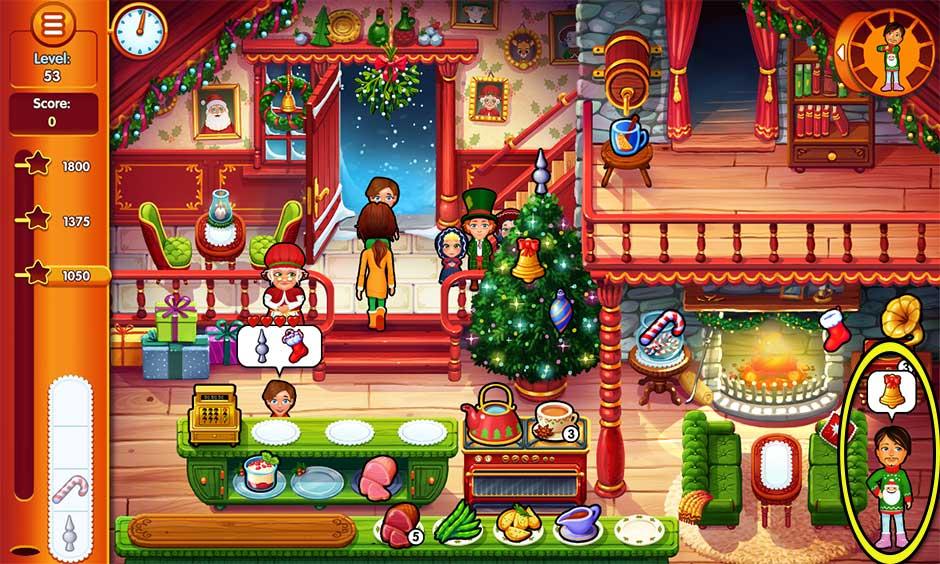 Delicious - Emily's Christmas Carol - Level 53