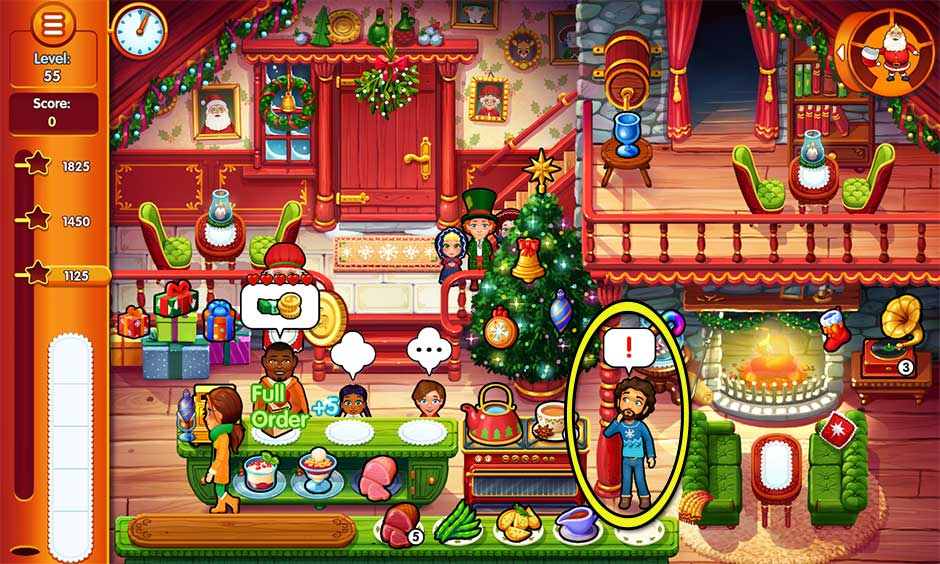Delicious - Emily's Christmas Carol - Level 55