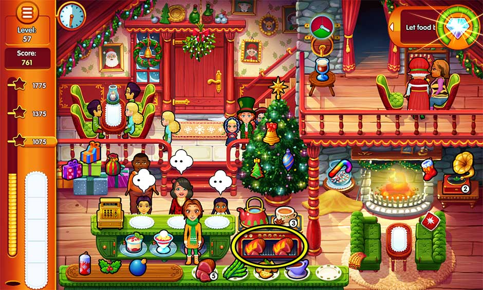 Delicious - Emily's Christmas Carol - Level 57