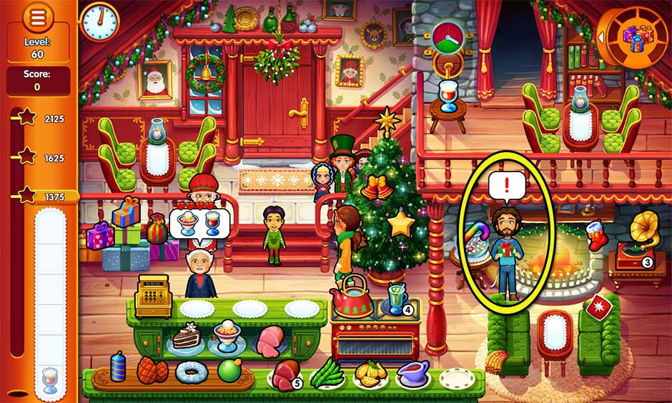 Delicious - Emily's Christmas Carol - Level 60