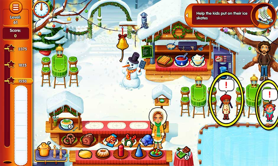 Delicious - Emily's Christmas Carol - Level 61