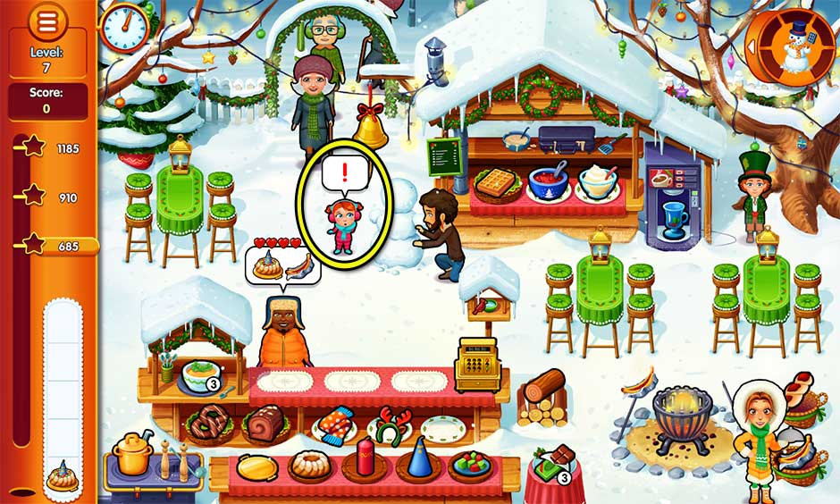 Delicious - Emily's Christmas Carol - Level 7