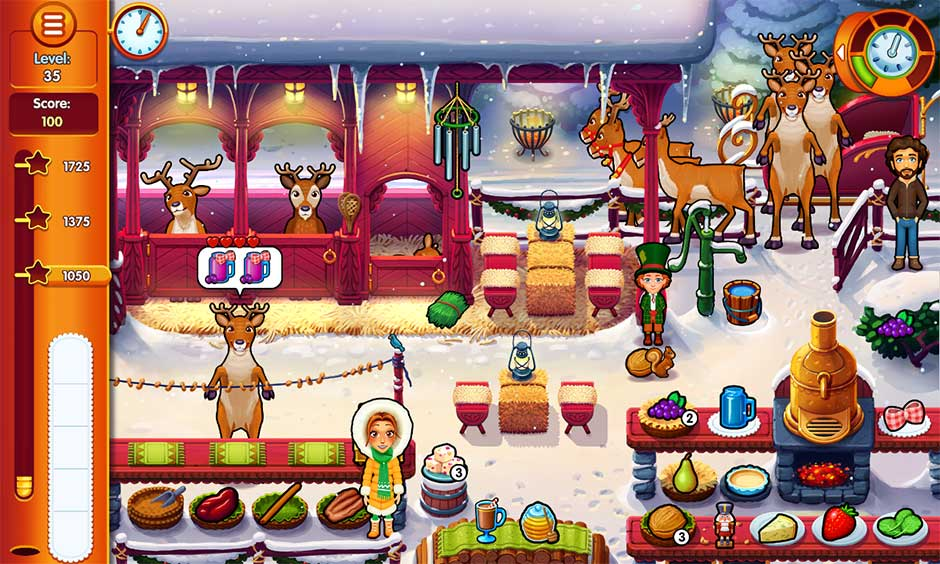 Delicious - Emily's Christmas Carol - Reindeer Hidden Minigame