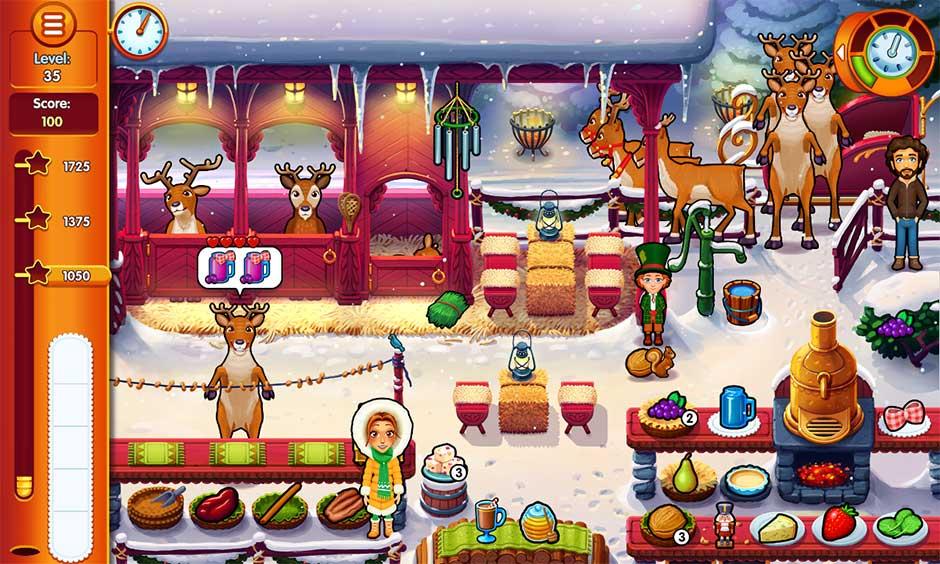 Delicious - Emily's Christmas Carol - Reindeer Hidden Minigame