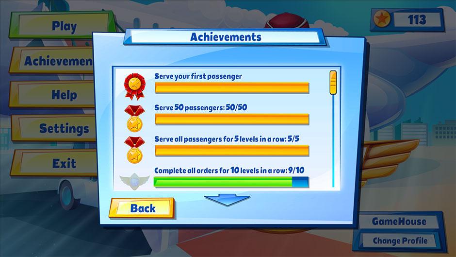 Sky Crew Platinum Edition achievements