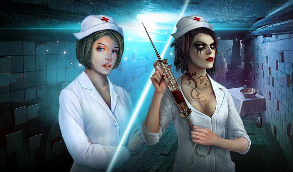 dark asylum - mystery adventure concept art