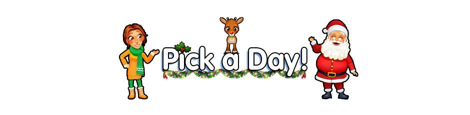 Pick a Day
