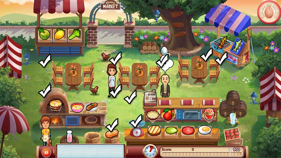 Mary le Chef - Cooking Passion - Bonus Level 19