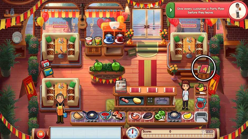 Mary le Chef - Cooking Passion - Bonus Level 4
