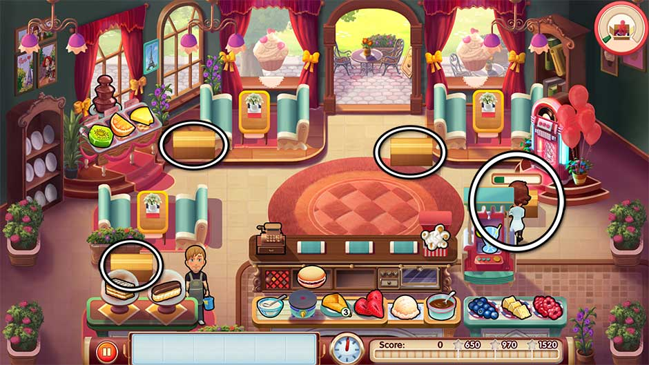 Mary le Chef - Cooking Passion - Level 17