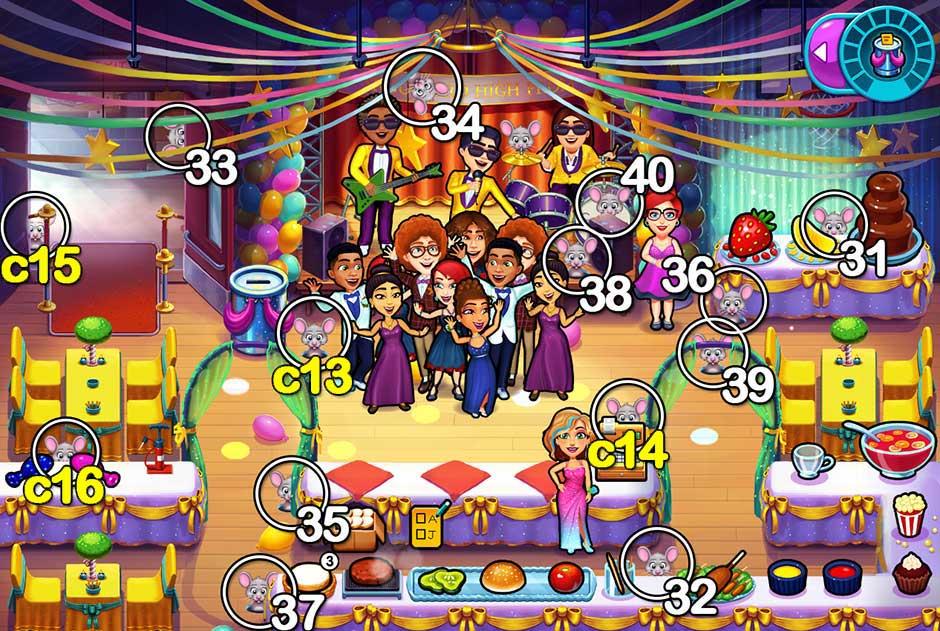 Fabulous - Angela's High School Reunion - Chapter 4 Mice Locations