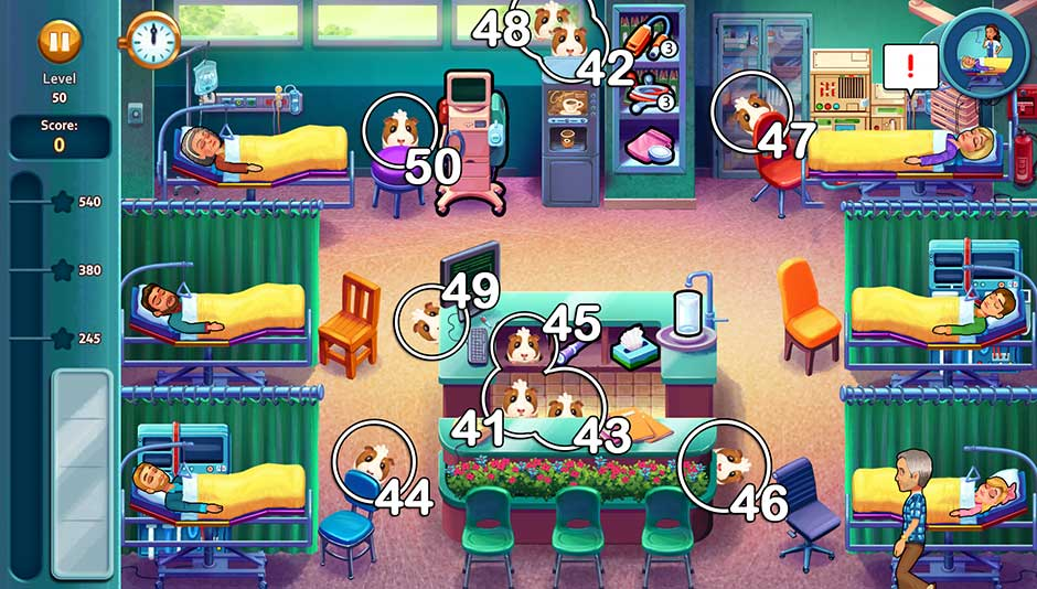 Heart's Medicine - Hospital Heat - Chapter 5 Oliver Locations