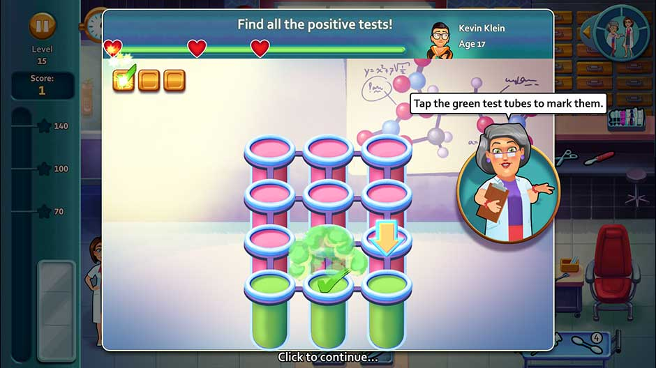 Minigame - Find all the positive tests!