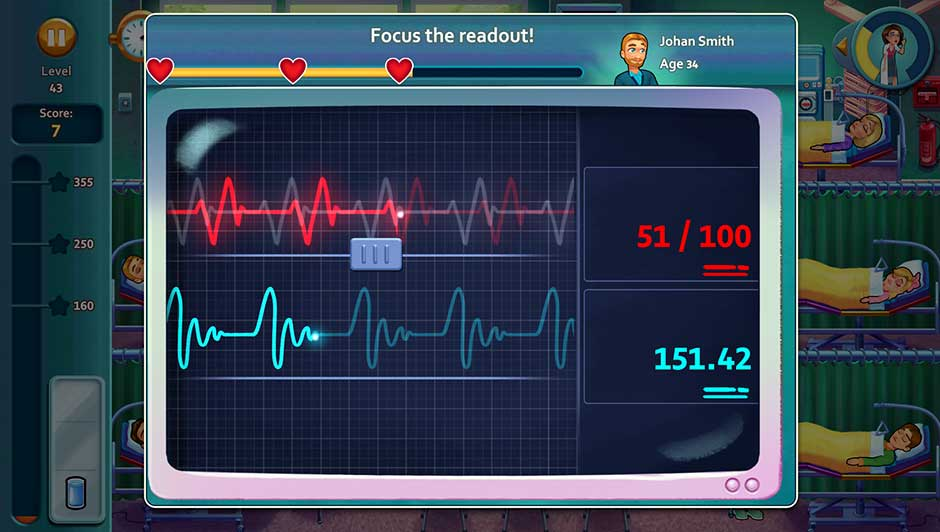 Minigame - Focus the readout!