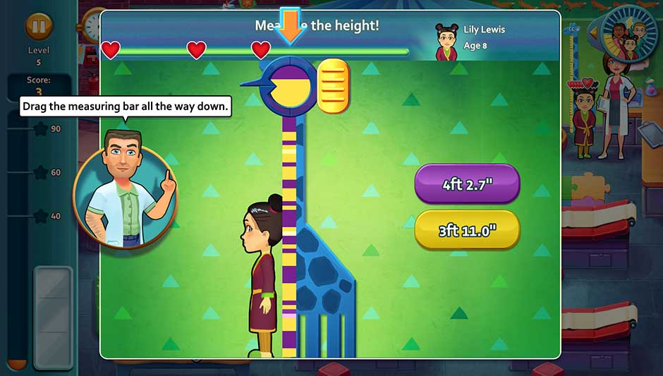 Minigame - Measure the height!