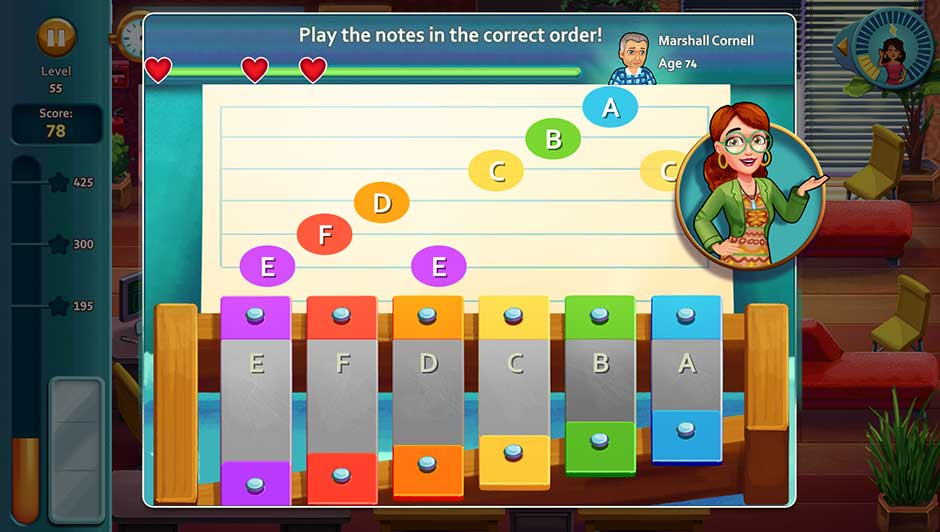 Minigame - Play the notes in the correct order!