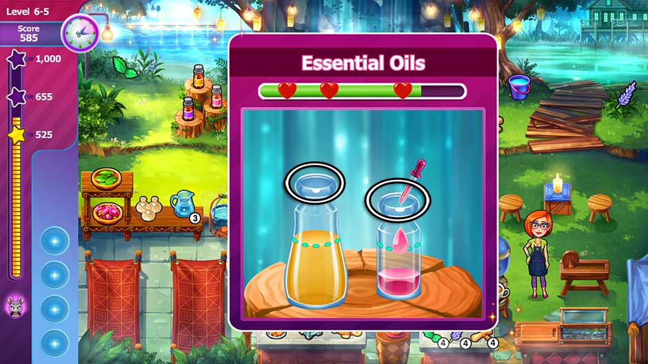 Sally's Salon - Beauty Secrets - Essential Oils Minigame