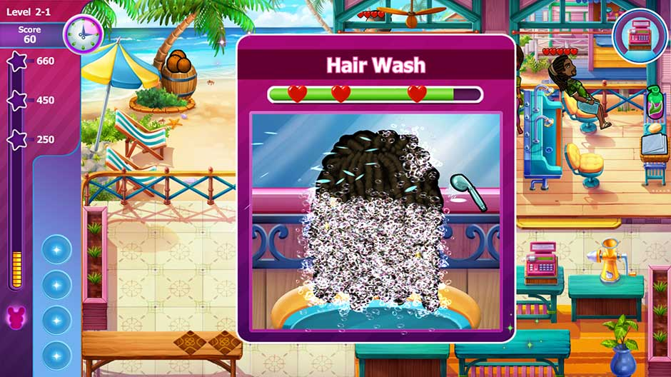 Sally's Salon - Beauty Secrets - Hair Wash Minigame