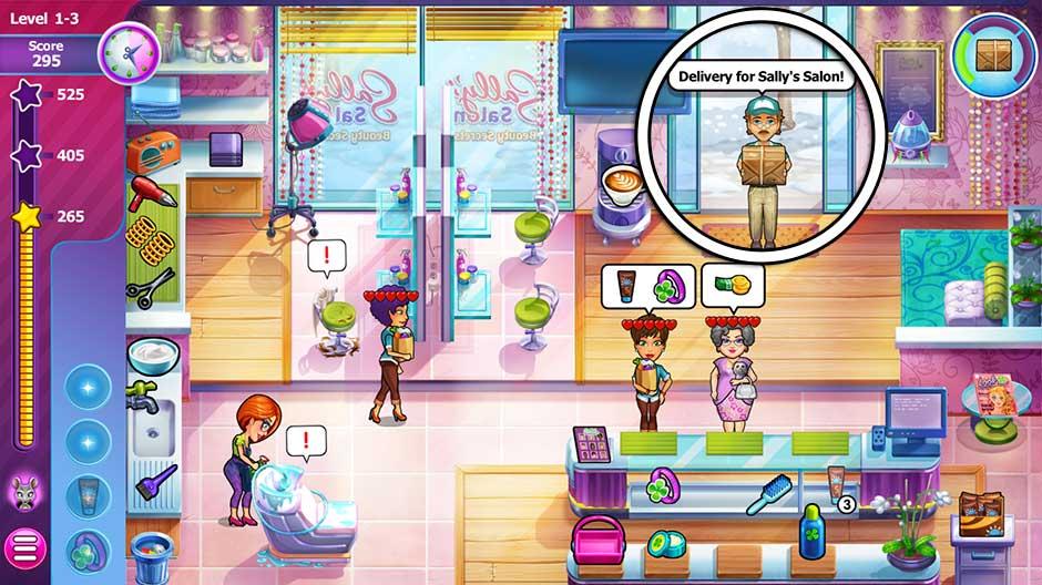 Sally's Salon - Beauty Secrets - Level 1-3
