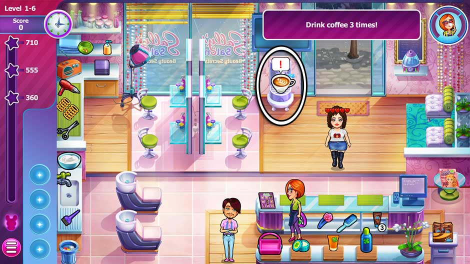 Sally's Salon - Beauty Secrets - Level 1-6