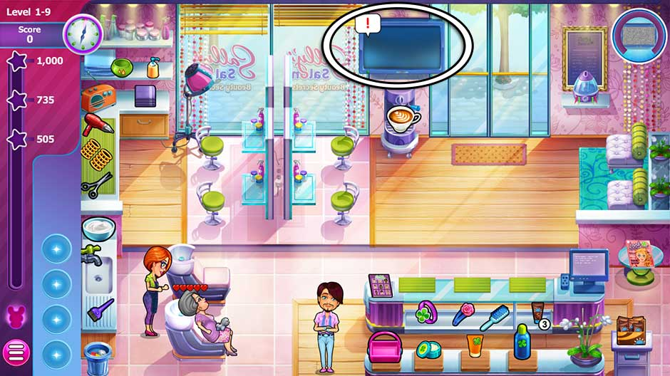 Sally's Salon - Beauty Secrets - Level 1-9