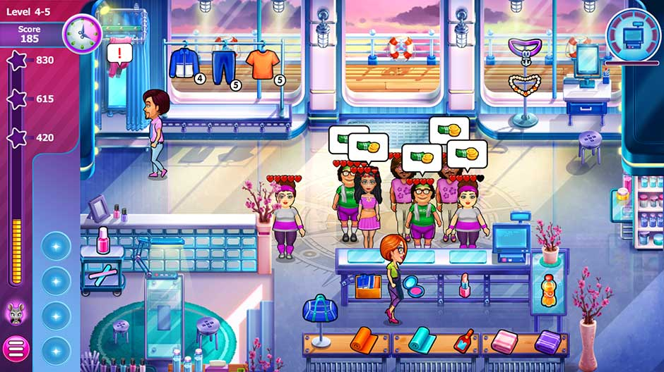 Sally's Salon - Beauty Secrets - Level 4-5