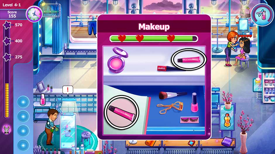 Sally's Salon - Beauty Secrets - Makeup Minigame