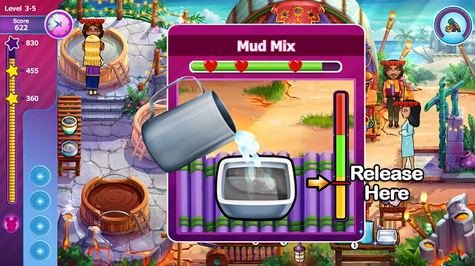 Sally's Salon - Beauty Secrets - Mud Mix Minigame