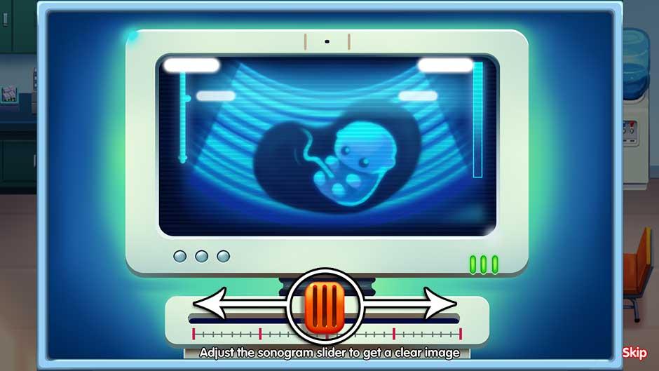 Delicious - Emily's Miracle of Life - Level 10 Cutscene - Focus the Sonogram!