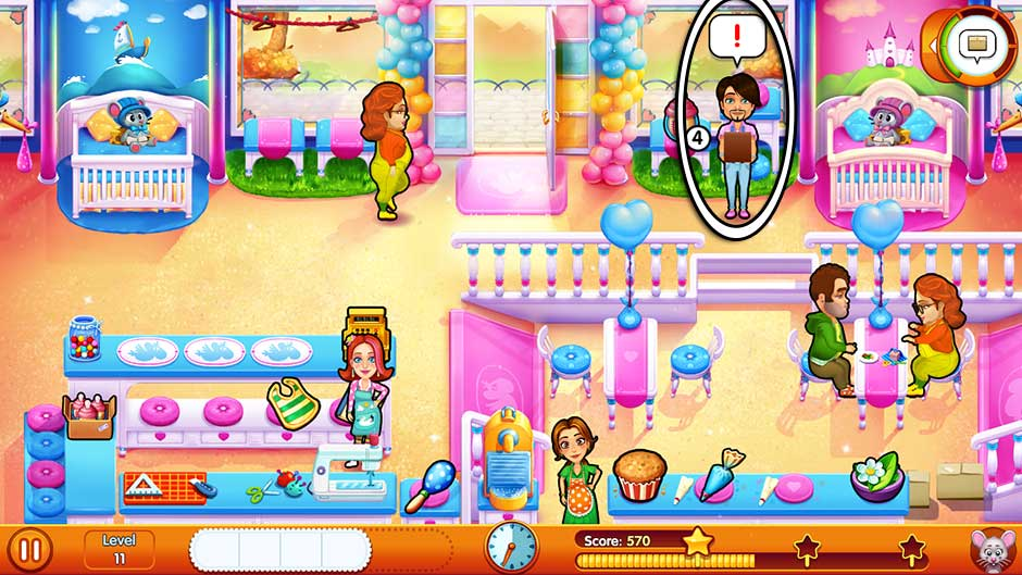Delicious - Emily's Miracle of Life - Level 11