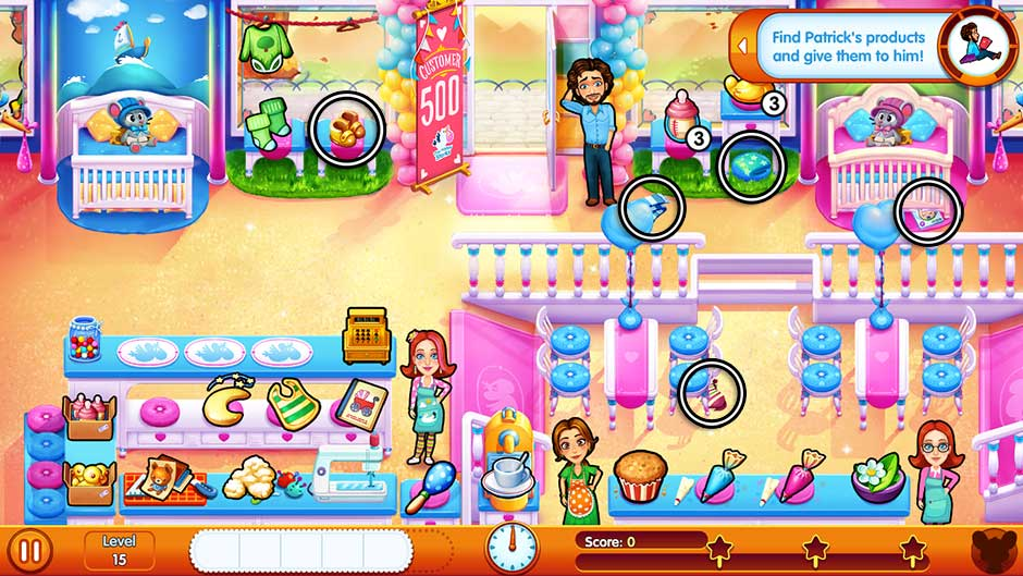 Delicious - Emily's Miracle of Life - Level 15