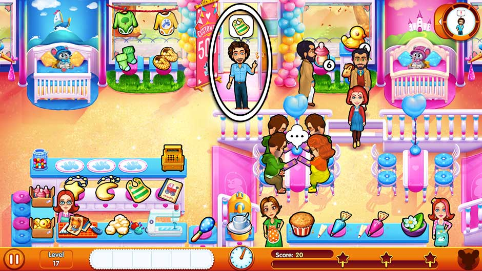 Delicious - Emily's Miracle of Life - Level 17