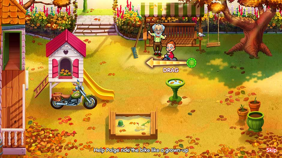 Delicious - Emily's Miracle of Life - Level 8 Cutscene - Ride the Bike!