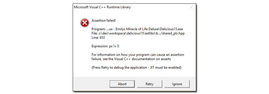 assertion-failed-error