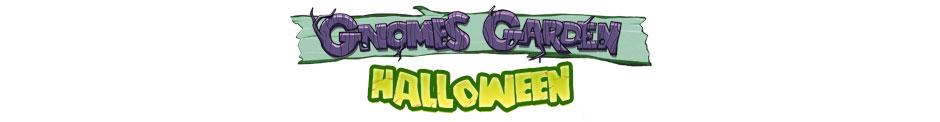 Gnomes Garden Halloween Logo