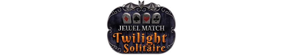 Jewel Match Twilight Solitaire Logo
