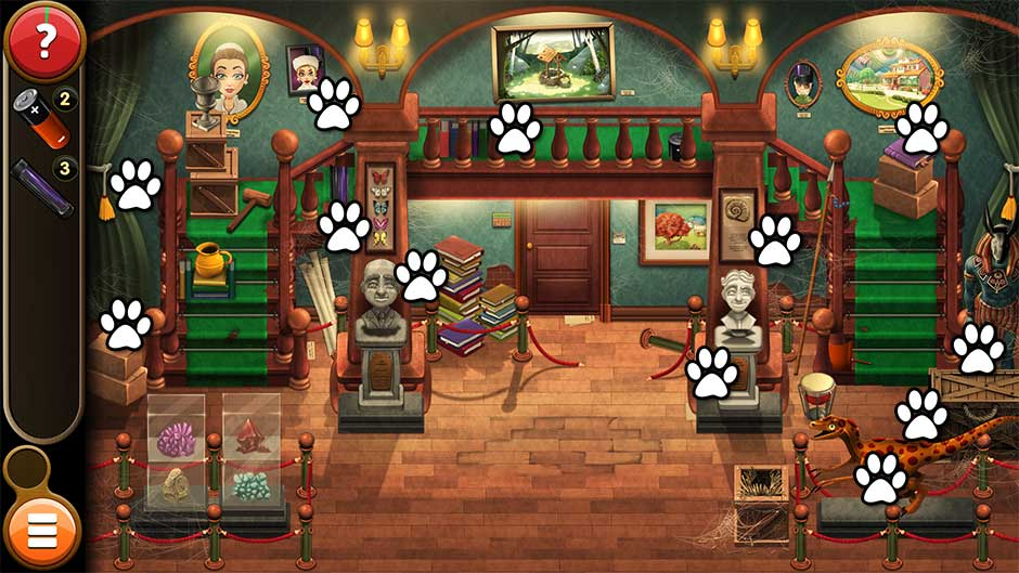 Mortimer Beckett and the Book of Gold - Mouse Locations Level 2