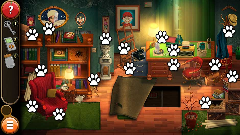 Mortimer Beckett and the Book of Gold - Mouse Locations Level 3