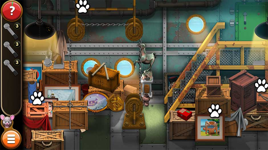 Mortimer Beckett and the Book of Gold - Mouse Locations Level 32