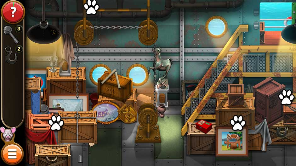 Mortimer Beckett and the Book of Gold - Mouse Locations Level 34