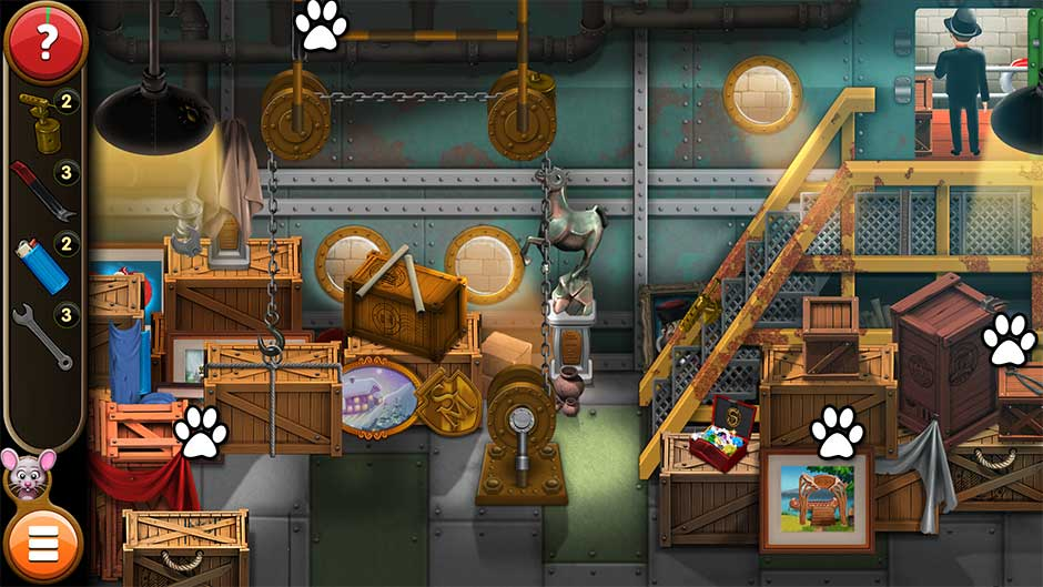 Mortimer Beckett and the Book of Gold - Mouse Locations Level 35