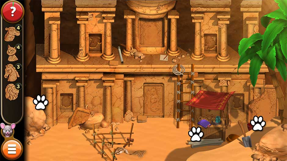 Mortimer Beckett and the Book of Gold - Mouse Locations Level 44